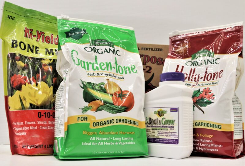 Plant Foods and Soil Amendments at Flowerland