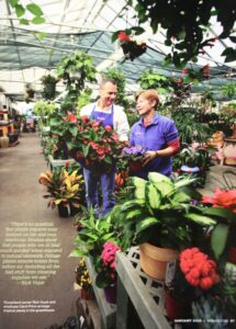 Flowerland's Greenhouse is open year-round