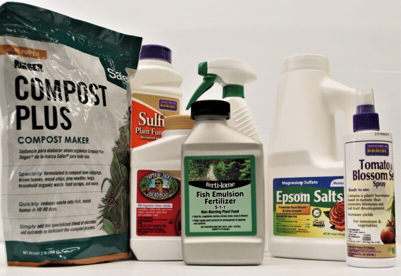 Natural or Organic lawn and garden products