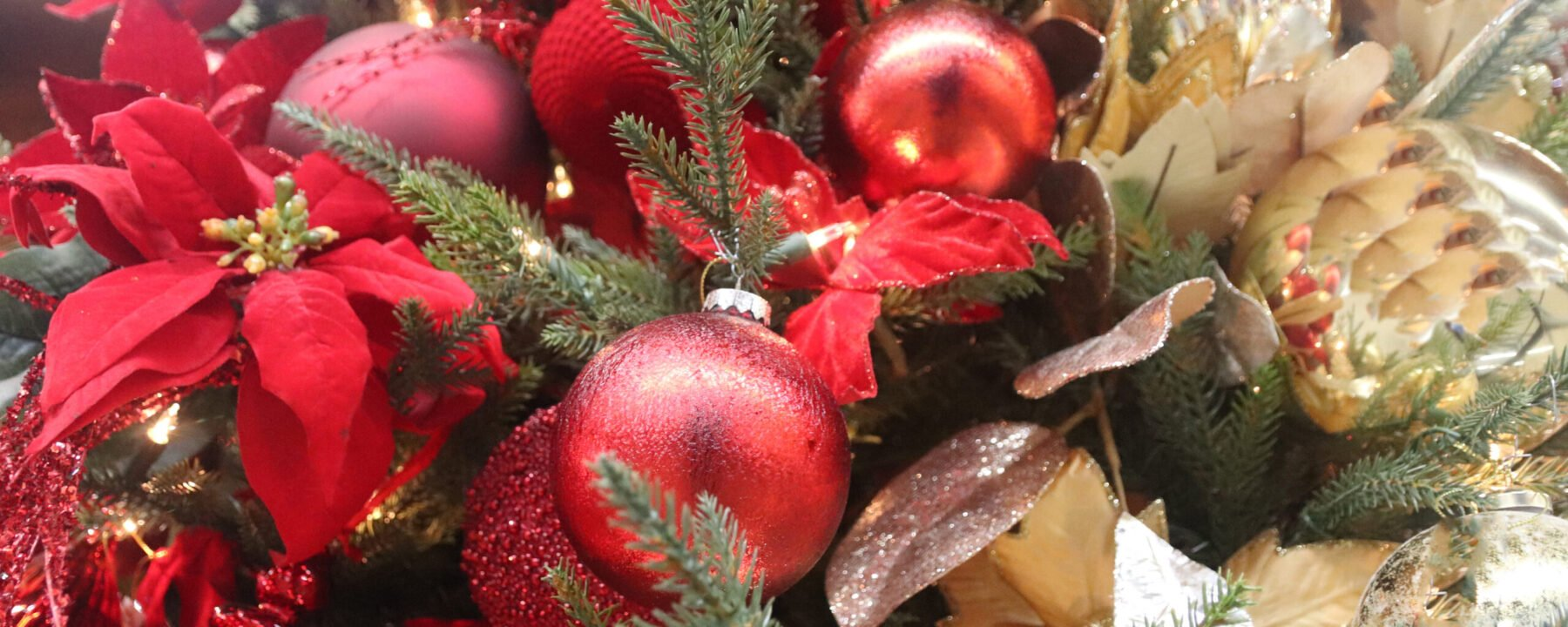 Christmas ornaments from Flowerland