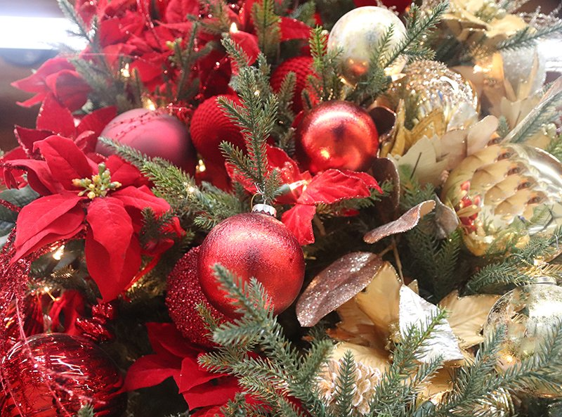 Ornaments of all styles and colors at Flowerland