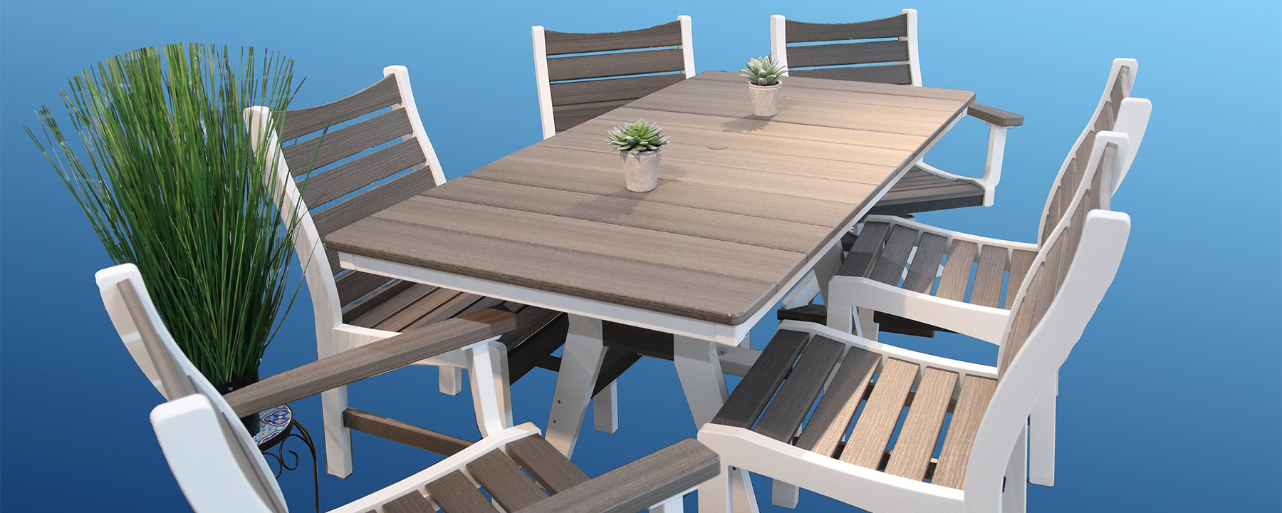 Live Outdoors with furniture from Flowerland