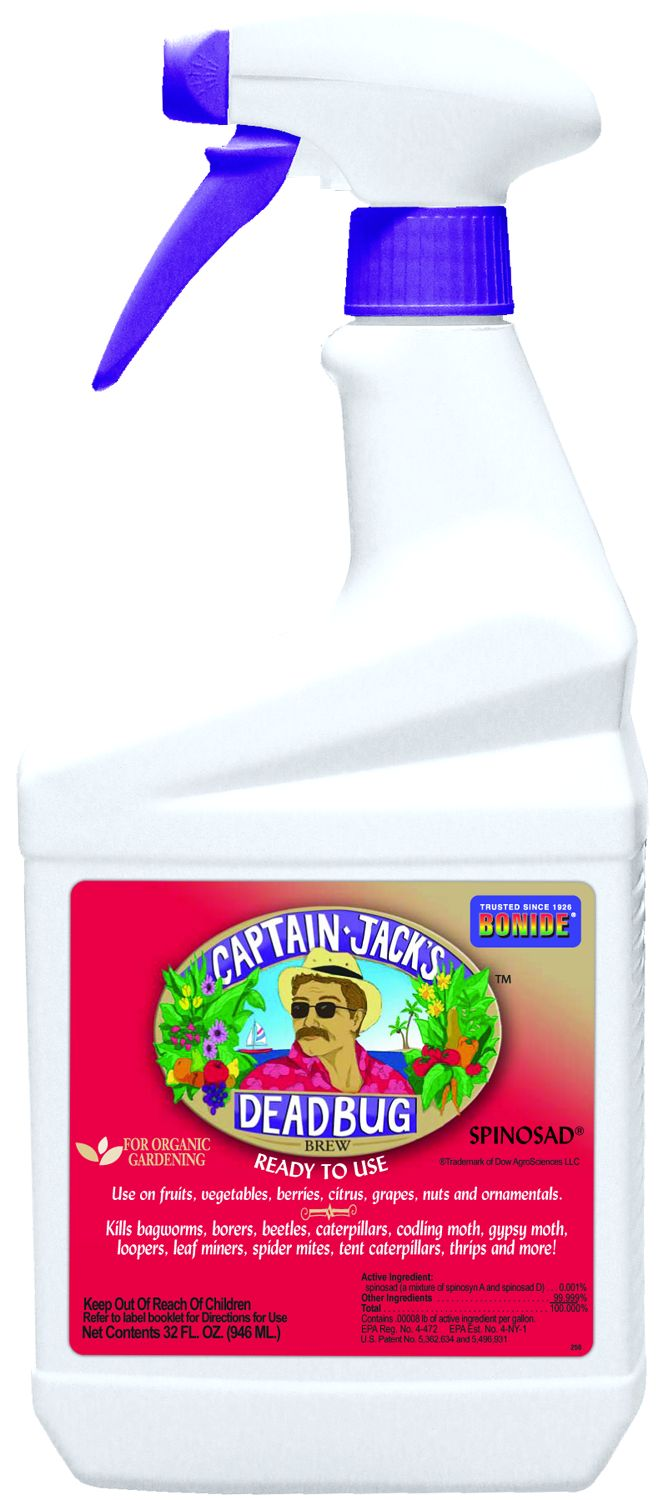 Captain Jack's Dead Bug Brew® available at Flowerland