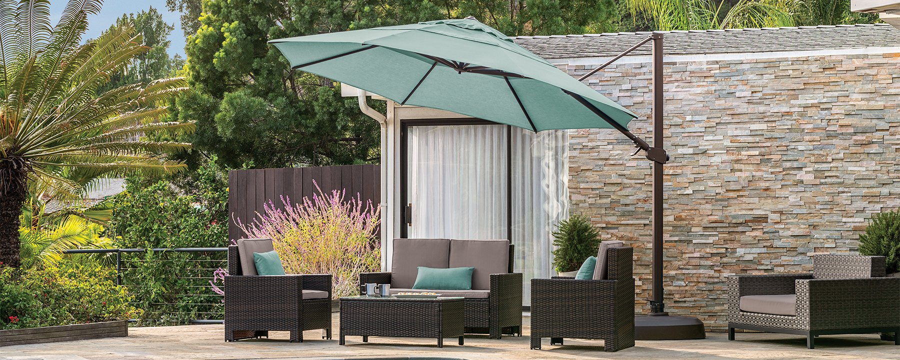 Treasure Garden Umbrellas in a great selection of sizes, styles and colors